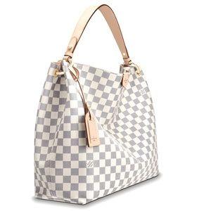 Louis Vuitton Graceful MM Azure